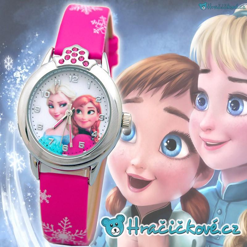 c07a5a98b Hodinky Ledové království s Elzou a Annou (Frozen)