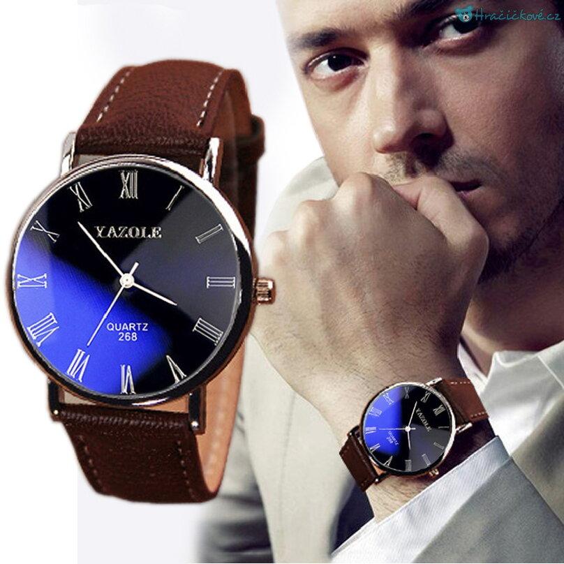 Stylové Business pánské analogové hodinky 1b27b23cd25