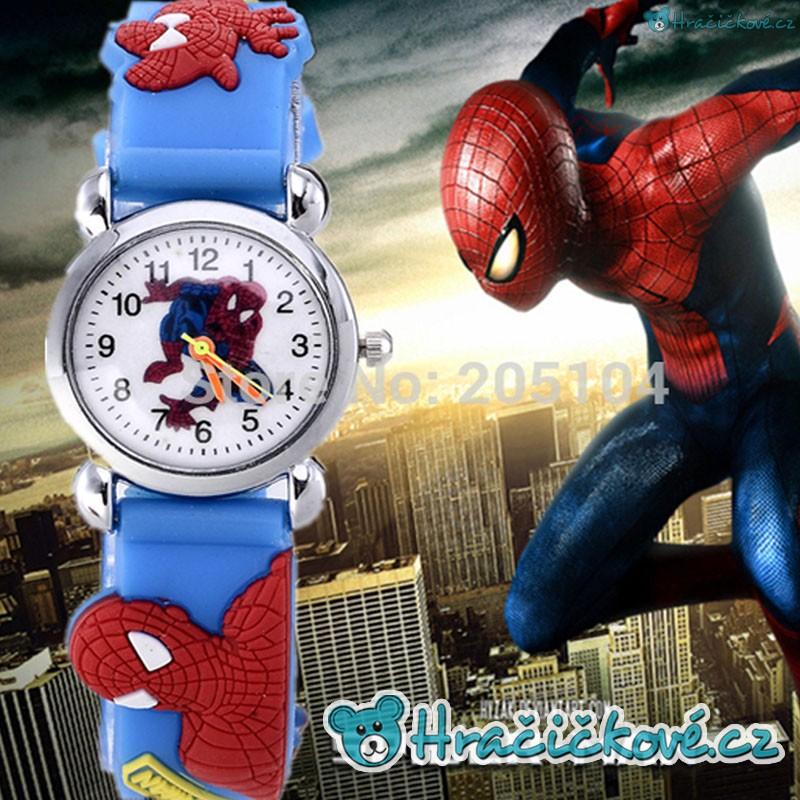 Dětské náramkové hodinky Spiderman pro každého kluka 0ee1bc76f1e