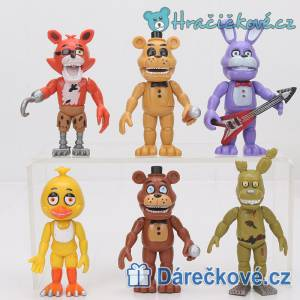 Figurky Five Nights At Freddy's, 6 ks (3 sety)