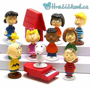Figurky z filmu Charlie Brown, 12ks